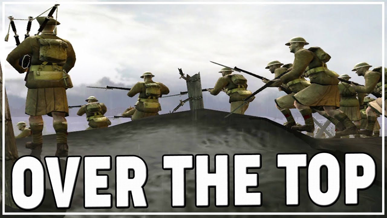 The Shermanator - CANADIANS & KILT-Wearing SCOTS in TRENCH WARFARE | Company of Heroes The Great War WW1 Mod