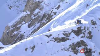 FWT 2013 - Epic Powder Shredding by Markus Eder - How to win in Courmayeur
