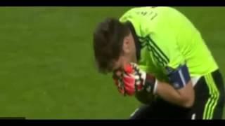 Casillas el beso a Sergio Ramos y las lágrimas   Madrid vs Atletico Final Champions 2014