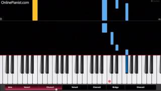Linkin Park - Nobody Can Save Me - Easy Piano Tutorial
