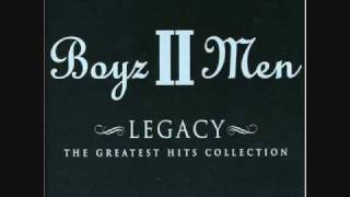 It's So Hard To Say Goodbye To Yesterday...Boyz II Men