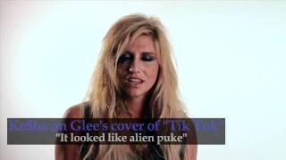 "Ke$ha talks Glee's Cover of ""Tik Tok"""