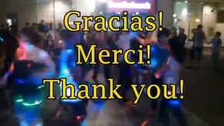 I LOVE SALSA ON SPARKS The Last of year 2014 Gracias! Thank you! Merci!