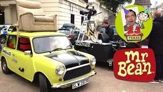 Mr Bean  -  25th Anniversary - Behind the Scenes