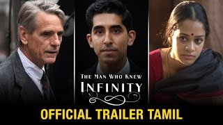 The Man Who Knew Infinity | Official Trailer Tamil