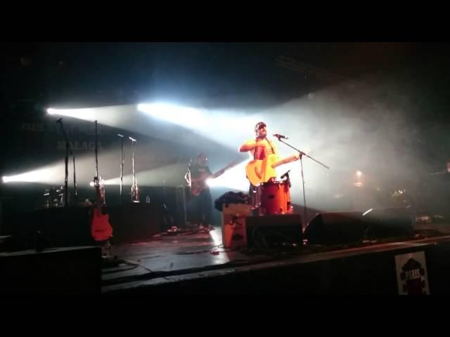 Vídeo de un concierto en la sala París 15.