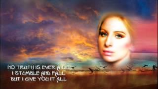 Woman In Love + Barbra Streisand + Lyrics/HD