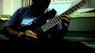 Shpongle - Juggling Molecules Guitar solo cover