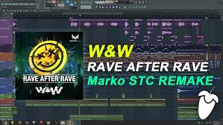 W&W - Rave After Rave [FL Studio Remake + FREE FLP]
