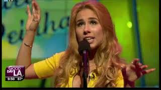 """Haley Reinhart """"Let's Start"""" first live performance"""