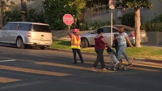 Brave School Crossing Guard Fights Off Woman Trying to Kidnap An 8-Year-Old Girl