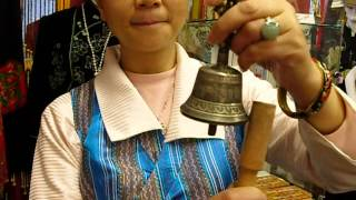How to Make A Small Singing Bell (Prayer Bell, Vajra/Dorje Bell) Sings