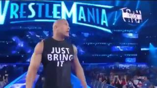 The Rock WWE Best wreastlemaina entrance