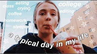 very typical day in my life (college)