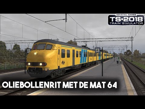 Train Simulator 2018 Oliebollenrit met de Mat 64