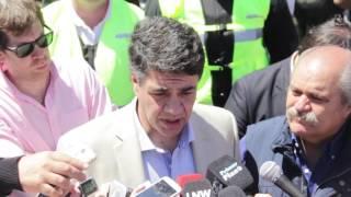 Macri, Granados y Ritondo   Policía Local