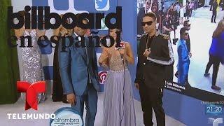 Un momento especial con Plan B | Billboard 2015 | Entretenimiento