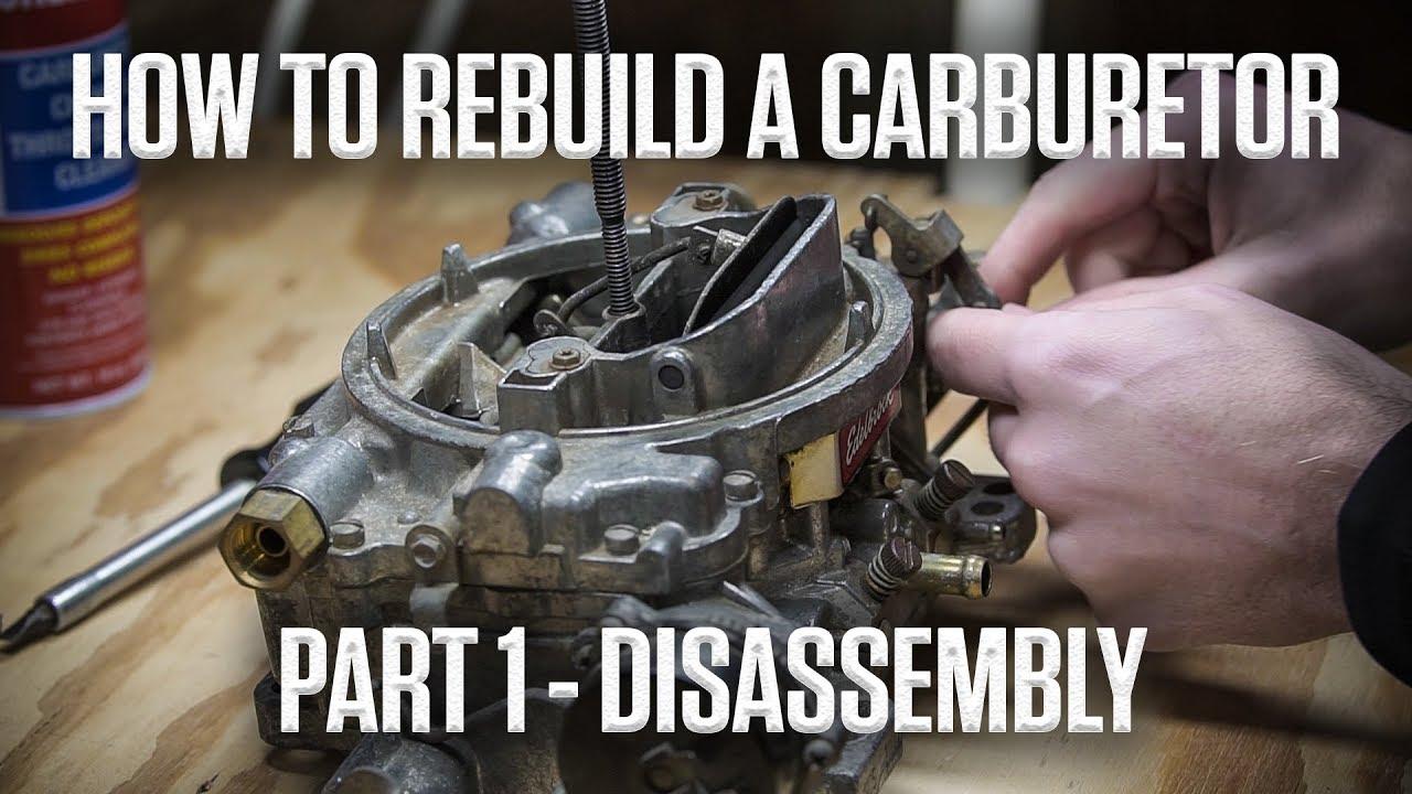 DIY: How to rebuild an Edelbrock or Carter AFB carburetor