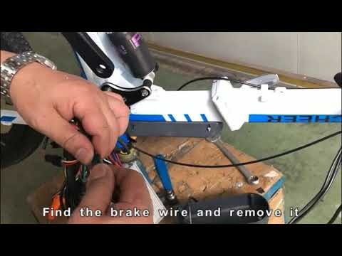 How to replace the brake lever AN-EB002 003 001 US EU UK