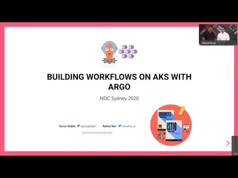 Cloud-Native Kubernetes Workflows on AKS with Argo - Rahul Rai & Tarun Pabbi