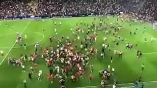 Envahissement Etoile rouge de belgrade champions league