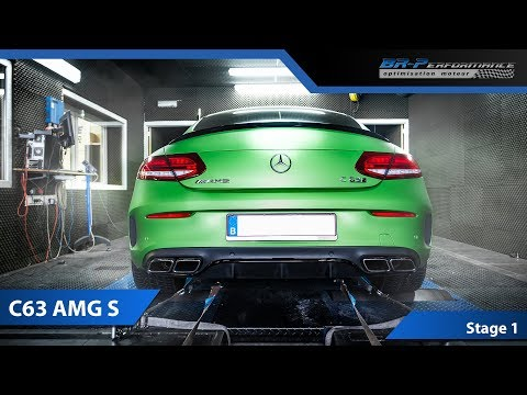 Mercedes C63 S AMG Stage 1 By BR-Performance