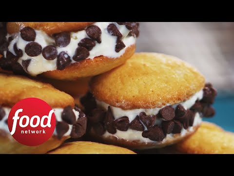 Tiny Ice Cream Sandwiches | Food Network