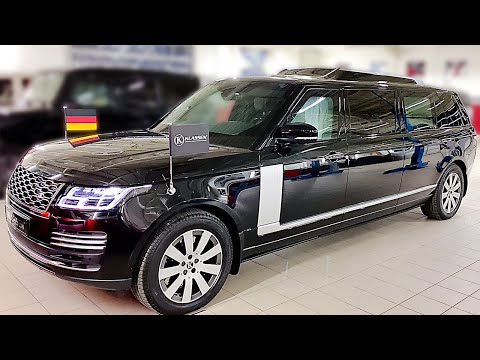 Stretched and Bulletproof 2020 RANGE ROVER SVAutobiography ? KLASSEN Armored Car Factory