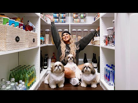 WHATS INSIDE MY ORGANIZED PANTRY!
