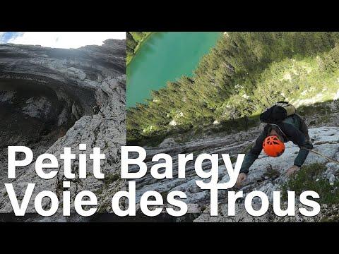 Petit Bargy Voie des Trous Haute-Savoie Bornes Aravis montagne escalade alpinisme