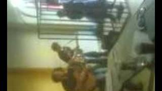 Bubamara played in a cage