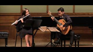 Piece en forme de Habanera - Maurice Ravel by Aakash Saha feat. Kelsey Akers (Flute)