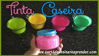 TINTA CASEIRA