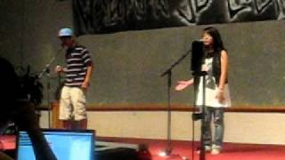 Talent Show: Go Too Far - Jibbs Feat. Melody Thornton (Cover)