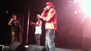 Bone Thugs N Harmony Live in Portland, OR (California Love/Thug Luv)