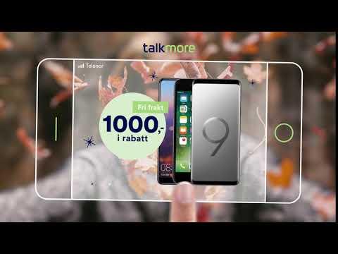 Talkmore - Bli kunde og få 1000 kroner i rabatt på mobiltelefon!