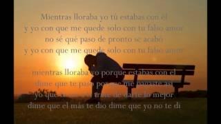 Tu Falso Amor - El Monchy - Letra
