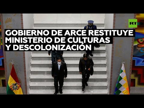 Bolivia: Gobierno de Luis Arce restituye Ministerio de Culturas y Descolonización que suprimió Áñez