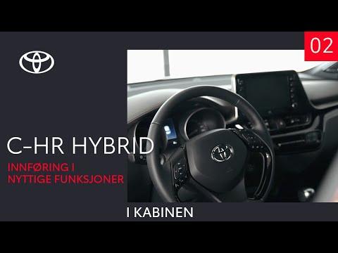 Toyota C-HR Hybrid 2020 - I kabinen (2 av 10) - Innføring i nyttige funksjoner