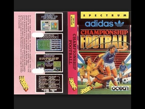 ADIDAS CHAMPIONSHIP FOOTBALL Zx Spectrum by OCEAN