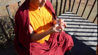 Mandala Offering  -  Lotus Flower Mudra