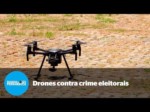 Polícia Federal vai usar drones para fiscalizar irregularidades nas eleições