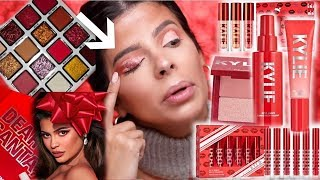 I TRIED THE KYLIE COSMETICS HOLIDAY 2019 COLLECTION ... we had hits and misses