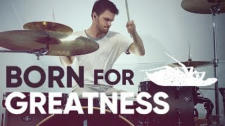 Born for Greatness - Papa Roach - Drum Video