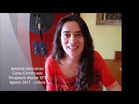 Antónia Gonçalves Terapeuta Certificado EFT Master Practitioner