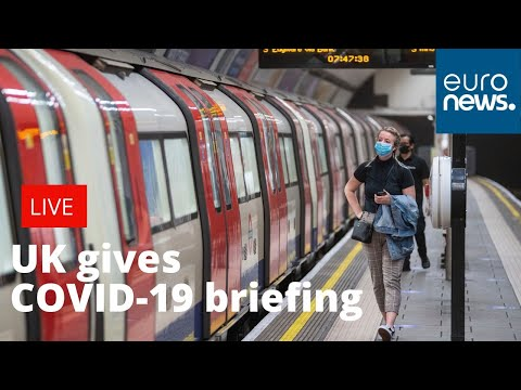 UK gives daily COVID-19 briefing| LIVE