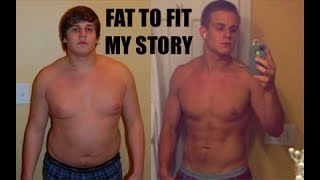 Fat to Fit my transformation story / 60 pounds in 4 months! / Marvin Roe width=