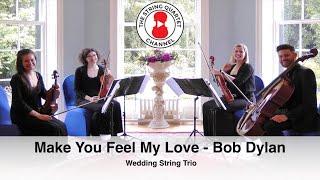 Make You Feel My Love (Adele Cover of Bob Dylan) - Wedding String Quartet