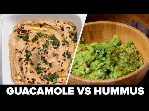 Guacamole Vs Hummus