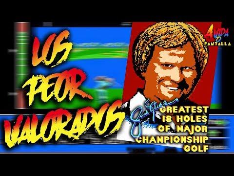 AVOP: Los Peor Valorados. Hoy, Jack Nicklaus de NES